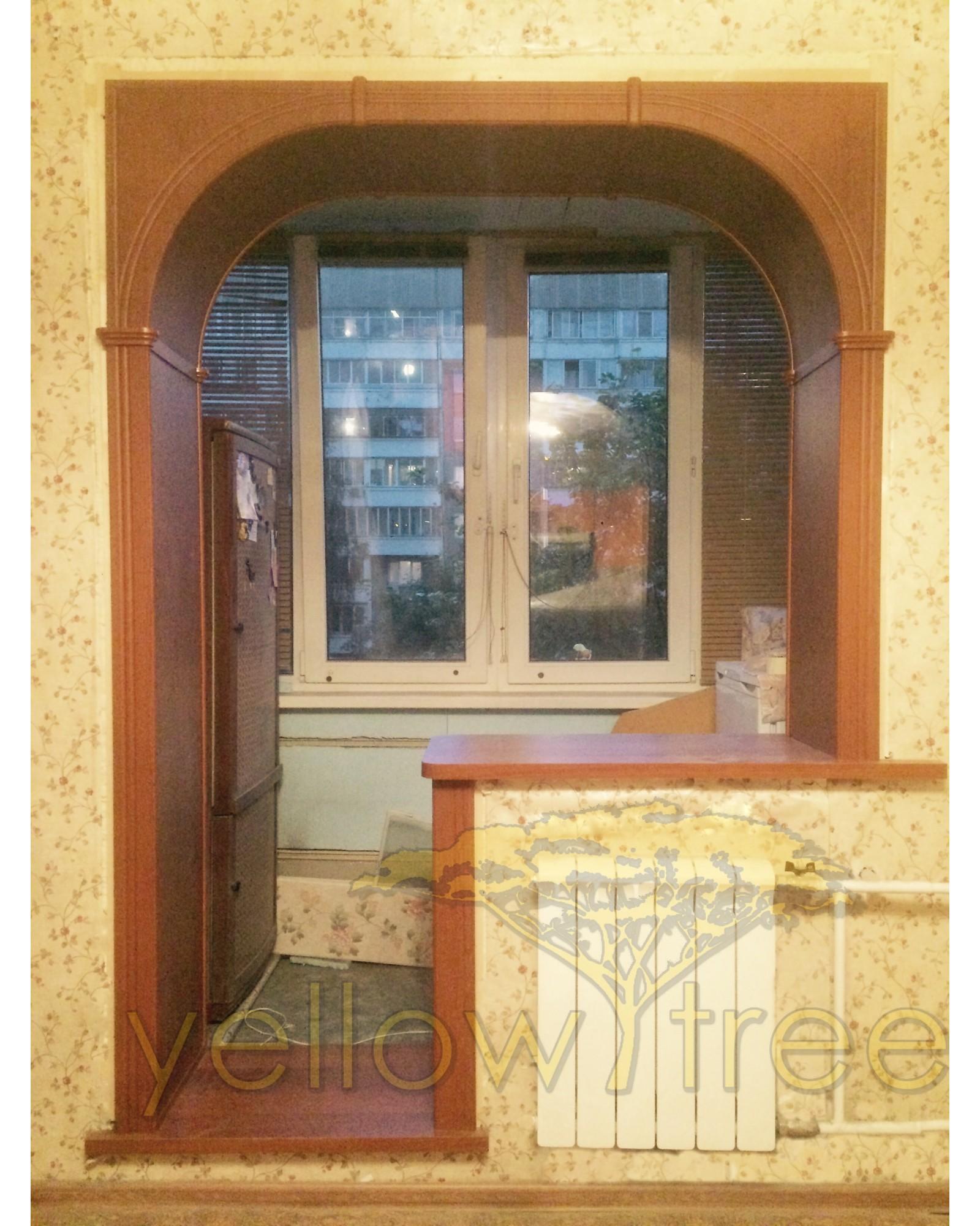 Арка Палермо в балконный проем